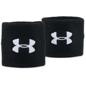 "UNDER ARMOUR PERFORMANCE WRISTBANDS 3"" ADULT"